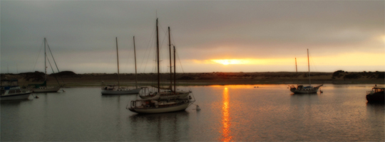 Sunset on Morro Bay